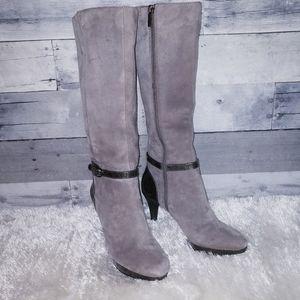 Bandolino Suede Heeled Boots